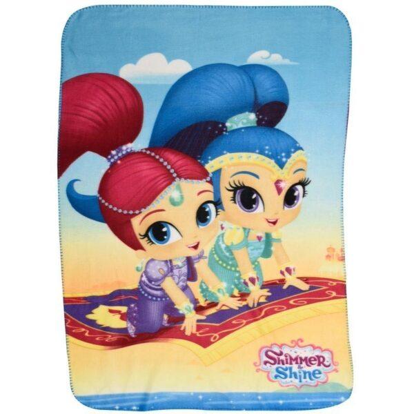 Поларено одеяло - Shimmer & Shine - За детето - Аксесоари и текстил за детска стая