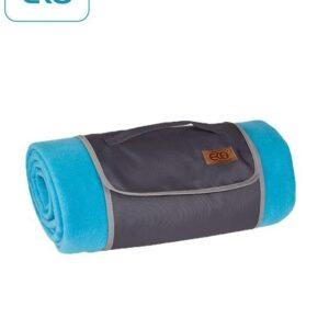 Поларено одеяло за пикник, синьо - За бебето - Аксесоари за детска стая - Завивки / Одеяла
