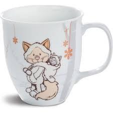 Порцеланова чаша - Котенце - Детски чаши - За детето - Детски прибори за хранене