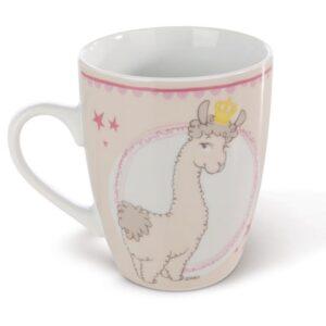 Порцеланова чаша Lama Queen - Детски чаши - За детето - Детски прибори за хранене