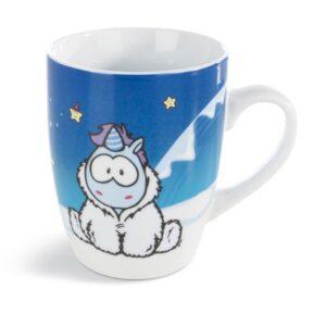 Порцеланова чаша с Еднорогът Snow Coldson - Детски чаши - За детето - Детски прибори за хранене