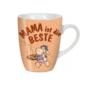 """Порцеланова чаша с надпис """"MAMA ist die BESTE"""" - Детски чаши - За детето - Детски прибори за хранене"""