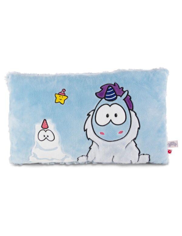 Правоъгълна възглавница - снежен Еднорог - За бебето - Аксесоари за детска стая - Декоративни и детски възглавници - За детето - Аксесоари и текстил за детска стая