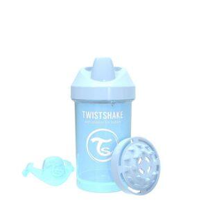 Преходна чаша Twistshake 300 мл 8+ месеца светло синя - За бебето - Хранене - Детски и бебешки чаши