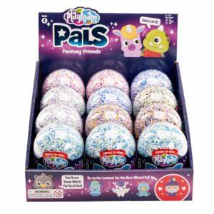 Пяна за моделиране с играчка - Fantasy Friends - POP дисплей 12 броя - Детски играчки
