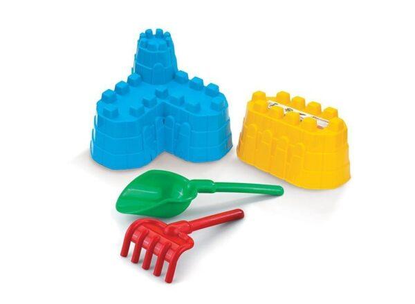 """Пясъчен комплект за игра """"КРЕПОСТ"""" - Детски играчки - Играчки за пясък"""