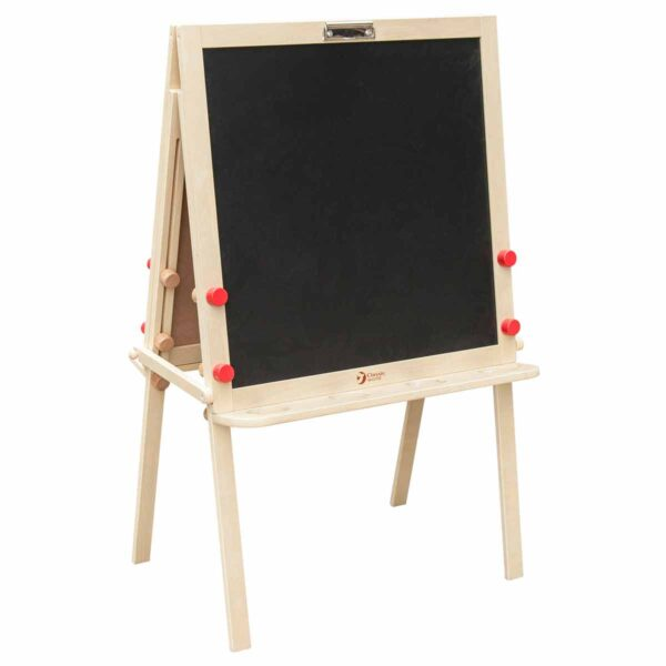 Регулируема учителска двустранна дъска за рисуване и писане - Мебели и играчки за детски градини и центрове - Мебели за детски градини и центрове