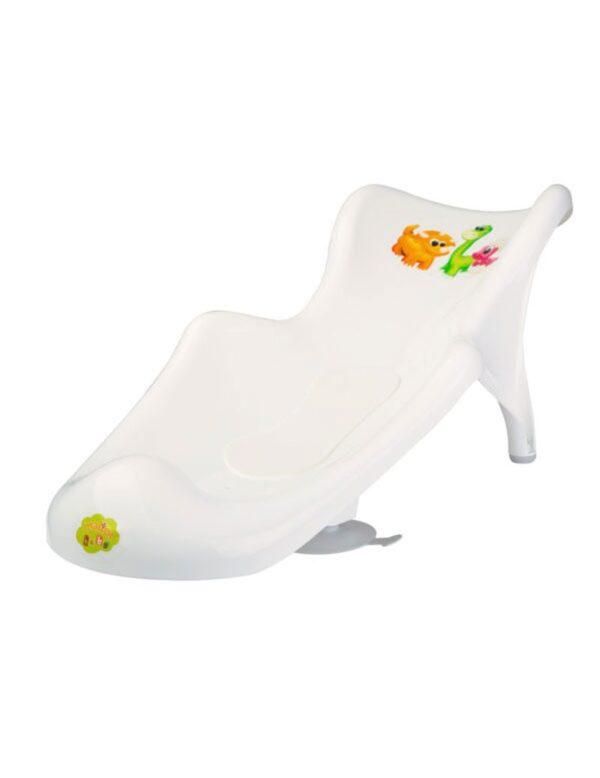 Седалка за вана Дино с подложка - За бебето - Детски и бебешки аксесоари за баня - Вани и корита за къпане