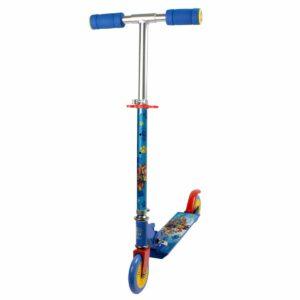 Синя сгъваема тротинетка с 2 колела, Пес Патрул - Тротинетки - Играчки за навън - Тротинетки с 2 колела за големи и деца - PAW Patrol