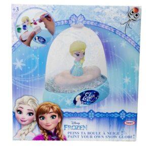 Снежно преспапие за оцветяване - Замръзналото царство - Детски играчки - Образователни играчки - Frozen
