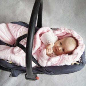 Спално чувалче за седалка - Екрю - За бебето - Аксесоари за детска стая - Завивки / Одеяла