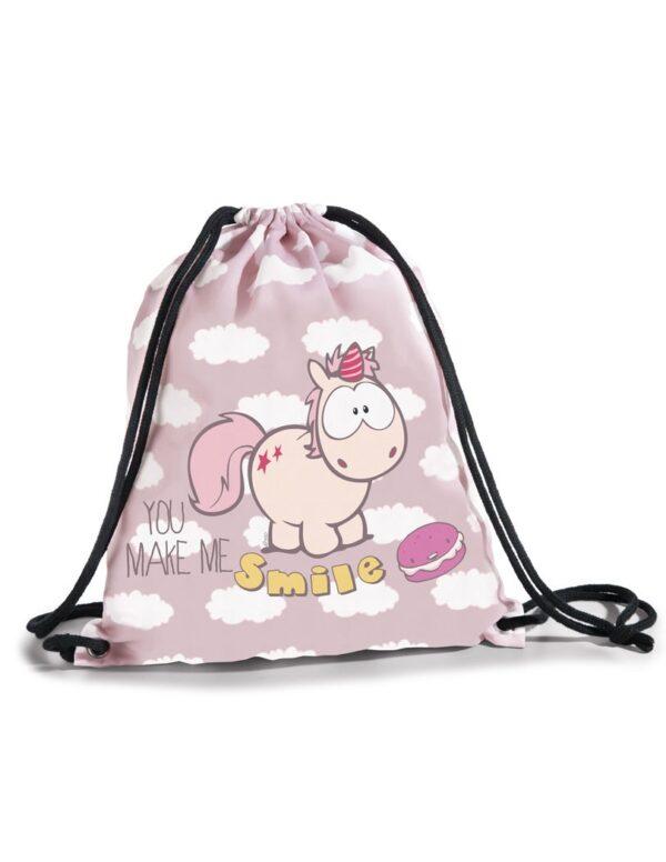 Спортна чанта за деца с Еднорогът Theodor - Ученически раници - За детето - Детски чанти и портмонета