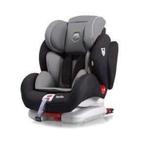 Столче за кола Penta Fix 1/2/3 (9-36 kg)-Сиво - Детски и бебешки столчета за кола - Детски столчета за кола - Възраст 1/2/3г. (9-36 кг.)