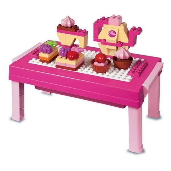 Строител за деца - маса с десерти, Unico - Детски играчки - Конструктори