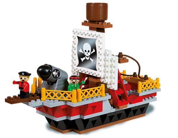 Строител за деца - пирати, Unico - Детски играчки - Конструктори