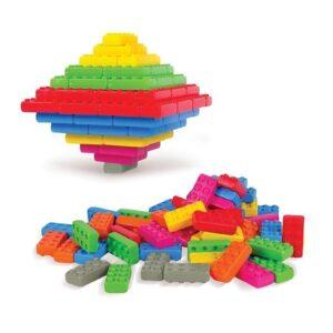 Строителни блокове - 140 части - Детски играчки - Конструктори
