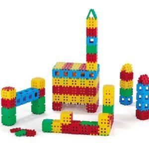 Строителни вафлени блокчета - 170 части - Детски играчки - Конструктори