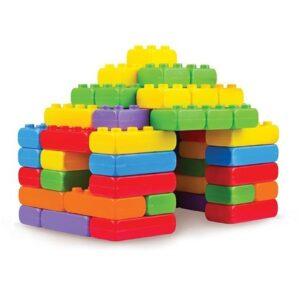 Строителни блокове 60 части - Детски играчки - Конструктори