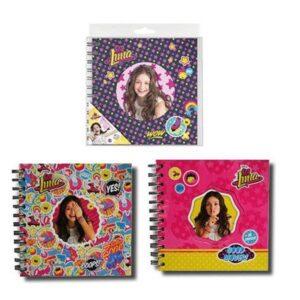 Тефтер с твърди корици и спирала - Сой Луна - Ученически пособия - Детски дневници - За детето - Soy Luna