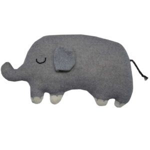 Текстилна играчка за бебета Слон - За бебето - Аксесоари за детска стая - Плетени играчки за гушкане