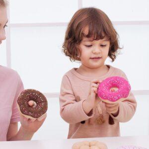 Текстилни понички за игра - Детски играчки - Кухни за игра - комплекти и консумативи - Дървени играчки