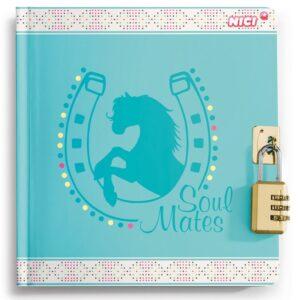 Тетрадка-дневник с катинар с комбинации, Nici Soulmates - Ученически пособия - Детски дневници - За детето