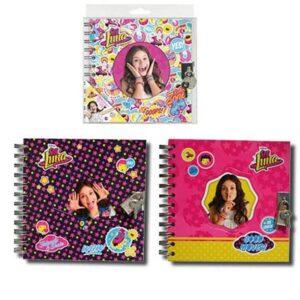 Тетрадка със спирала - Сой Луна, различни видове - Ученически пособия - Детски дневници - За детето - Soy Luna