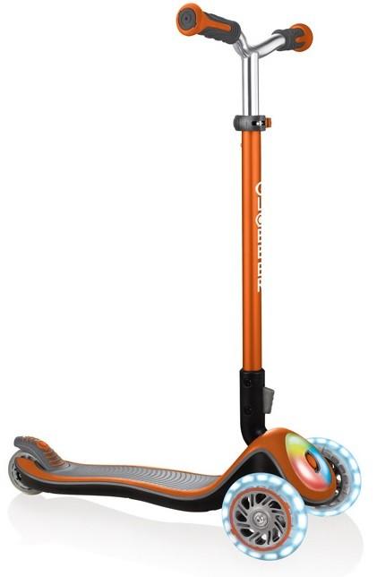 Тротинетка Elite Prime със светещи колела - Оранжева - Тротинетки - Играчки за навън - Тротинетки с 3 колела за деца