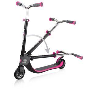 Тротинетка Flow Foldable 125 - Розова - Тротинетки - Играчки за навън - Тротинетки с 2 колела за големи и деца