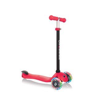 Тротинетка Globber 4 в 1 със стабилизатор, GO UP Sporty Lights - Червена - Тротинетки - Играчки за навън - Tротинетки със седалка 4 в 1