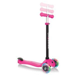 Тротинетка Globber 4 в 1 със стабилизатор, GO UP Sporty Lights - Розова - Тротинетки - Играчки за навън - Tротинетки със седалка 4 в 1