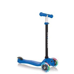 Тротинетка Globber 4 в 1 със стабилизатор, GO UP Sporty Lights - Синя - Тротинетки - Играчки за навън - Tротинетки със седалка 4 в 1