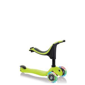 Тротинетка Globber 4 в 1 със стабилизатор, GO UP Sporty Lights - Зелена - Тротинетки - Играчки за навън - Tротинетки със седалка 4 в 1