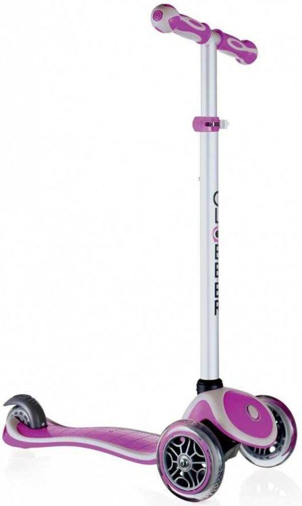 Тротинетка My Free за деца с регулируема височина - Пурпурно розова - Тротинетки - Играчки за навън - Тротинетки с 3 колела за деца