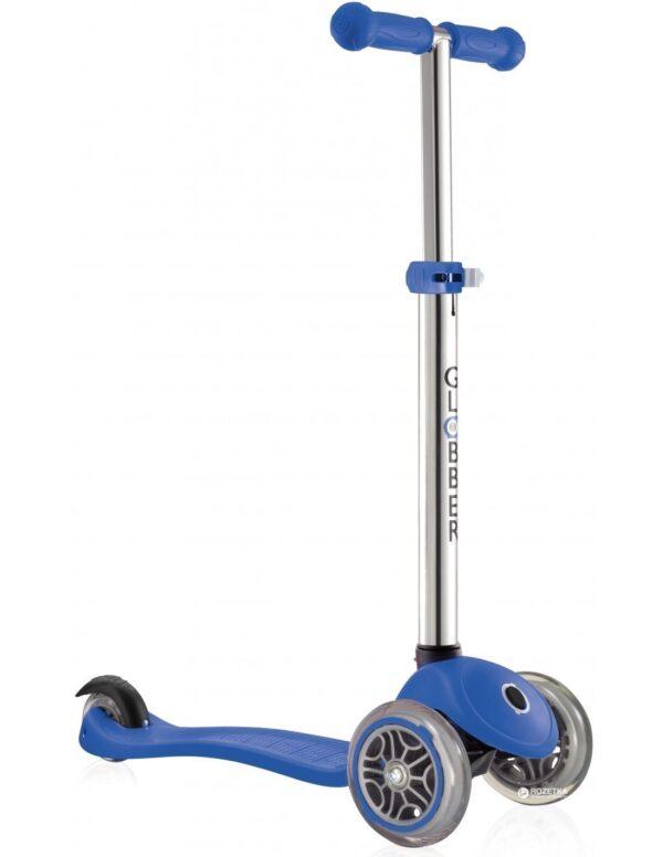 Тротинетка Primo с регулируема височина - Неоново синьо - Тротинетки - Играчки за навън - Тротинетки с 3 колела за деца