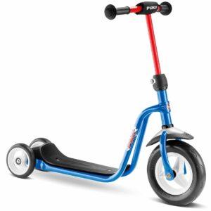 Тротинетка с 3 колела Puky R1 синя - Тротинетки - Играчки за навън - Тротинетки с 3 колела за деца