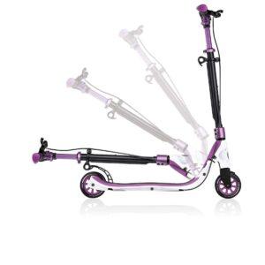 Тротинетка с две колела, Globber One Nl 125 лилава - Тротинетки - Играчки за навън - Тротинетки с 2 колела за големи и деца