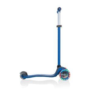 Тротинетка с родителски контрол 5 в 1 Globber Go Up Comfort Lights - синя - Тротинетки - Играчки за навън - Tротинетки 5 в 1