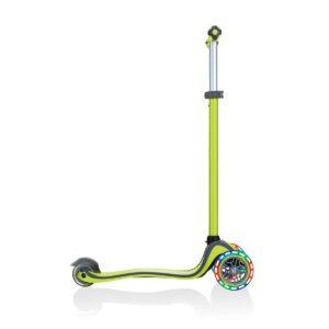 Тротинетка с родителски контрол 5 в 1 Globber Go Up Comfort Lights - зелена - Тротинетки - Играчки за навън - Tротинетки 5 в 1