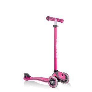 Тротинетка с родителски контрол 5 в 1 Globber Go Up Comfort Play - розова - Тротинетки - Играчки за навън