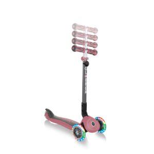 Тротинетка с родителски контрол 5 в 1, GO UP Deluxe Lights - Пепел от рози - Тротинетки - Играчки за навън - Tротинетки 5 в 1