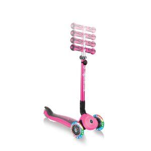 Тротинетка с родителски контрол 5 в 1, GO UP Deluxe Lights - Розова - Тротинетки - Играчки за навън - Tротинетки 5 в 1