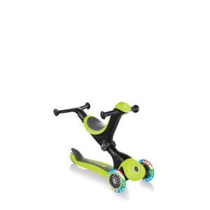 Тротинетка с родителски контрол 5 в 1, GO UP Deluxe Lights - Зелена - Тротинетки - Играчки за навън - Tротинетки 5 в 1