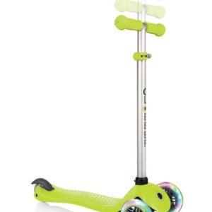 Тротинетка - триколка EVO 4 в 1 Light за деца със светещи колела - Зелена - Тротинетки - Играчки за навън - Тротинетки с 3 колела за деца - Tротинетки със седалка 4 в 1