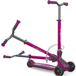 Тротинетка за деца и възрастни Globber Ultimum - Розова - Тротинетки - Играчки за навън - Тротинетки с 3 колела за деца