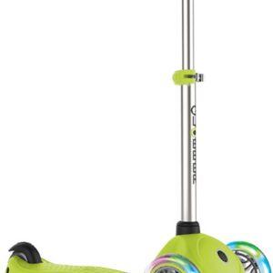 Тротинетка за деца Primo Lights със светещи гуми и регулируема височина - Светло зелена - Тротинетки - Играчки за навън - Тротинетки с 3 колела за деца