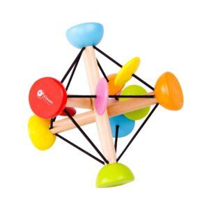 Вълшебна дървена топка за игра - Детски играчки - Бебешки играчки - Дървени играчки