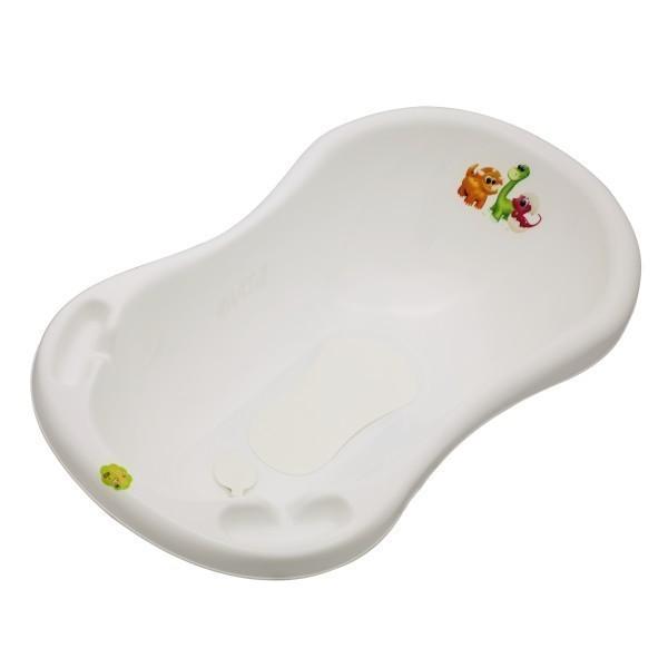 """Вана за къпане с тапа и подложка """"Дино"""" - За бебето - Детски и бебешки аксесоари за баня - Вани и корита за къпане"""