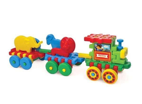 Влак Марио - Детски играчки - Конструктори