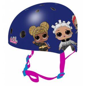 Защитна каска за момичета, размер S, LOL - Играчки за навън - Протектори - каски, налакътници, наколенки